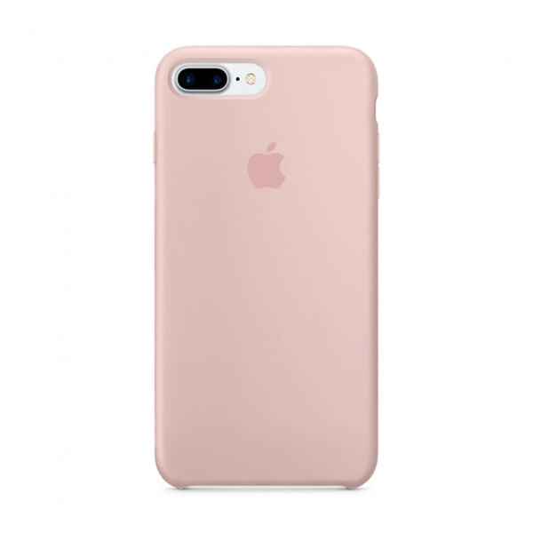 Силиконовый чехол iLoungeMax Silicone Case Pink Sand для iPhone 7 Plus | 8 Plus OEM (MMT02)