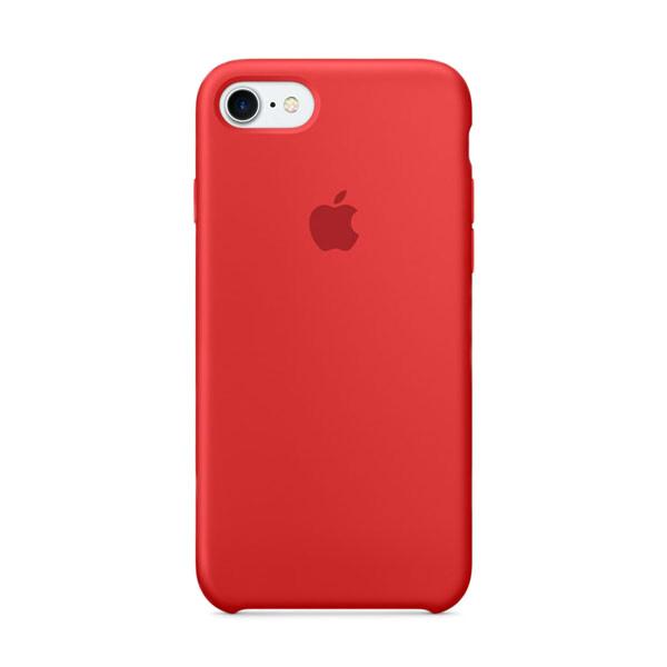 Силиконовый чехол iLoungeMax Silicone Case (PRODUCT) RED для iPhone 7 | 8 | SE 2020 OEM (MQGP2)