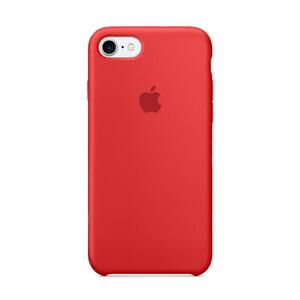 Купить Силиконовый чехол Silicone Case OEM (PRODUCT) RED для iPhone 8/7
