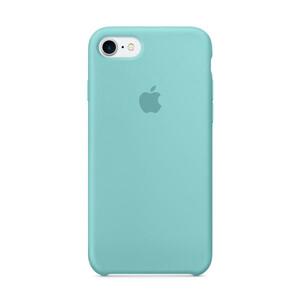 Купить Силиконовый чехол Silicone Case OEM Sea Blue для iPhone 8/7