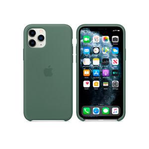 Купить Силиконовый чехол Apple Silicone Case Pine Green (MWYP2) для iPhone 11 Pro
