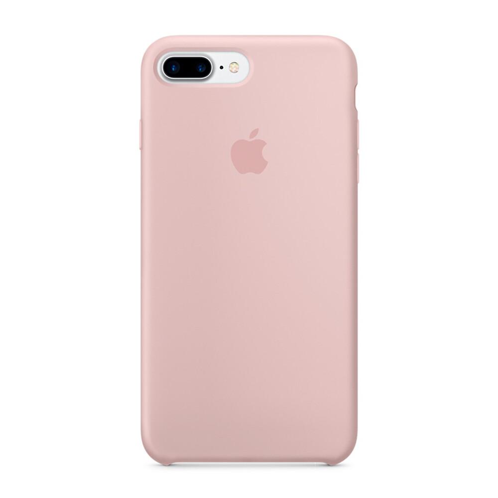 Силиконовый чехол Apple Silicone Case Pink Sand (MMT02) для iPhone 7 Plus/8 Plus