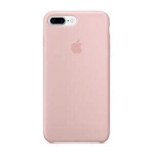 Купить Силиконовый чехол Apple Silicone Case Pink Sand (MMT02) для iPhone 7 Plus