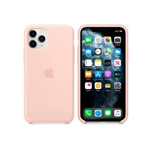 Купить Силиконовый чехол Apple Silicone Case Pink Sand (MWYM2) для iPhone 11 Pro