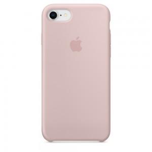 Купить Силиконовый чехол Apple Silicone Case Pink Sand (MQGQ2) для iPhone 8/7
