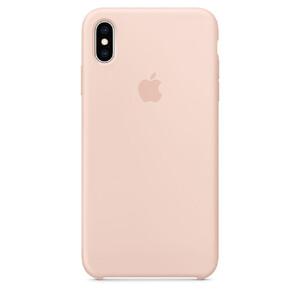 Купить Силиконовый чехол Apple Silicone Case Pink Sand (MTFD2) для iPhone XS Max