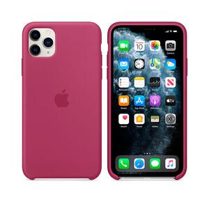 Купить Силиконовый чехол Apple Silicone Case Pomergranate (MXM82) для iPhone 11 Pro Max