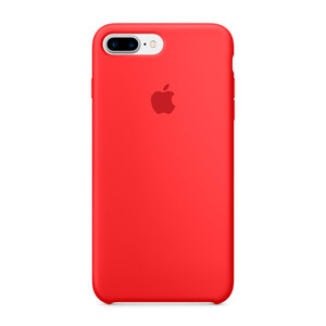 Купить Силиконовый чехол Apple Silicone Case (PRODUCT) RED (MMQV2) для iPhone 7 Plus/8 Plus