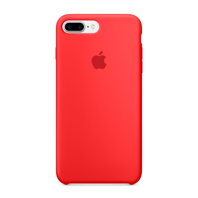 Силиконовый чехол Apple Silicone Case (PRODUCT) RED (MMQV2) для iPhone 7 Plus