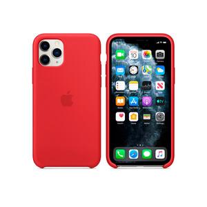 Купить Силиконовый чехол Apple Silicone Case (PRODUCT) Red (MWYH2) для iPhone 11 Pro