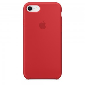 Купить Силиконовый чехол Apple Silicone Case (PRODUCT) RED (MQGP2) для iPhone 8/7