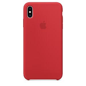 Купить Силиконовый чехол Apple Silicone Case (PRODUCT) RED (MRWC2) для iPhone XS/X