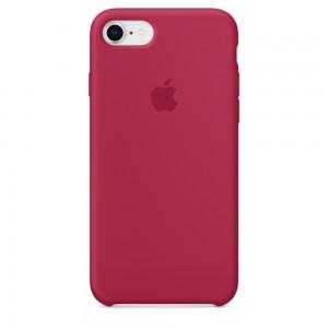 Купить Силиконовый чехол Apple Silicone Case Rose Red (MQGT2) для iPhone 8/7