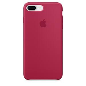 Купить Силиконовый чехол Apple Silicone Case Rose Red (MQH52) для 8 Plus/7 Plus