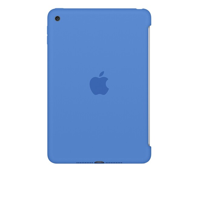 Чехол Apple Silicone Case Royal Blue (MM3M2) для iPad mini 4