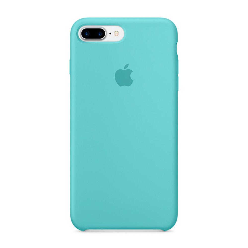 Силиконовый чехол Apple Silicone Case Sea Blue (MMQY2) для iPhone 7 Plus/8 Plus