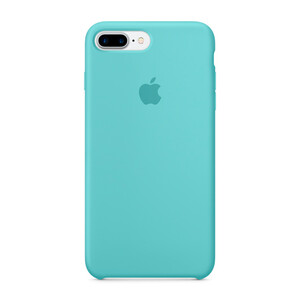 Купить Силиконовый чехол Apple Silicone Case Sea Blue (MMQY2) для iPhone 7 Plus
