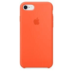 Купить Силиконовый чехол Apple Silicone Case Spicy Orange (MR682) для iPhone 8/7