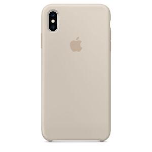 Купить Силиконовый чехол Apple Silicone Case Stone (MRWJ2) для iPhone XS Max