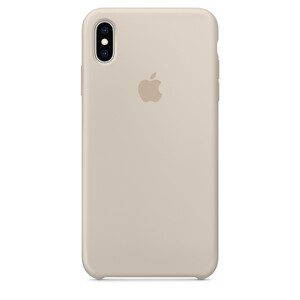 Купить Силиконовый чехол Apple Silicone Case Stone (MRWD2) для iPhone XS/X