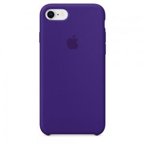 Купить Силиконовый чехол Apple Silicone Case Ultra Violet (MQGR2) для iPhone 8/7
