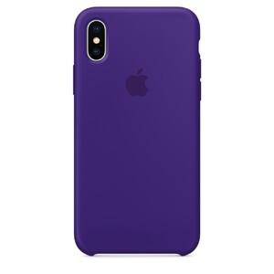 Купить Силиконовый чехол Apple Silicone Case Ultra Violet (MQT72) для iPhone X