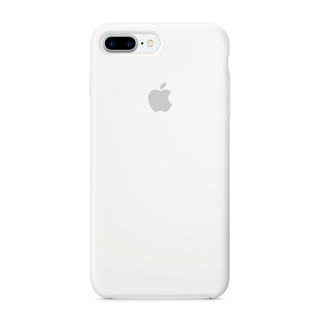 Силиконовый чехол Apple Silicone Case White (MMQT2) для iPhone 7 Plus