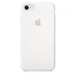 Купить Силиконовый чехол Apple Silicone Case White (MQGL2) для iPhone 8/7