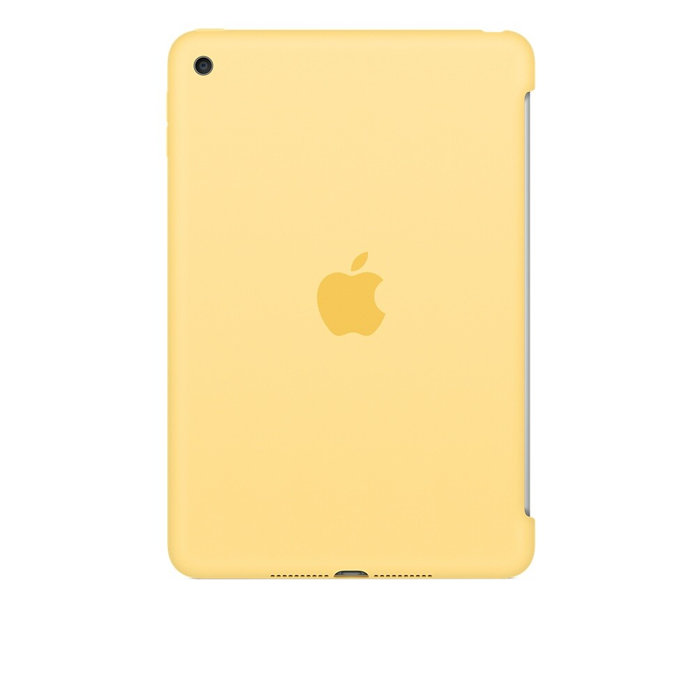Чехол Apple Silicone Case Yellow (MM3Q2) для iPad mini 4