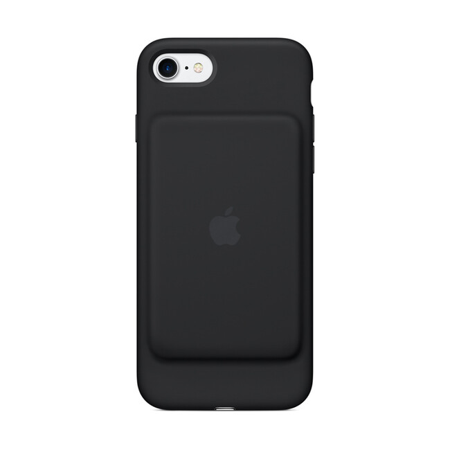 Чехол-аккумулятор Apple Smart Battery Case Black (MN002) для iPhone 7