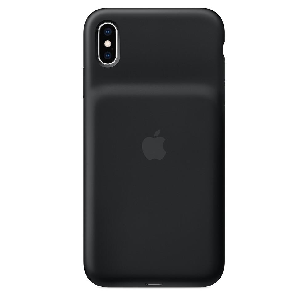 Чехол-аккумулятор Apple Smart Battery Case Black для iPhone XS Max (MRXQ2)