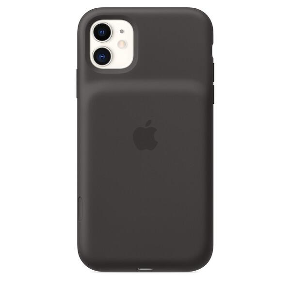 Чехол-аккумулятор Apple Smart Battery Case Black (MWVH2) для iPhone 11
