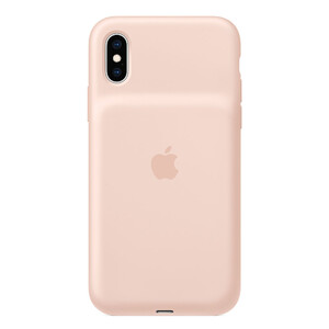 Купить Чехол-аккумулятор Apple Smart Battery Case Pink Sand (MVQP2) для iPhone XS