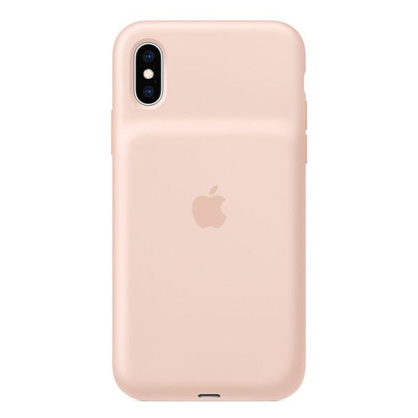 Чехол-аккумулятор Apple Smart Battery Case Pink Sand (MVQP2) для iPhone XS