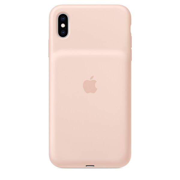 Чехол-аккумулятор Apple Smart Battery Case Pink Sand (MVQQ2) для iPhone XS Max
