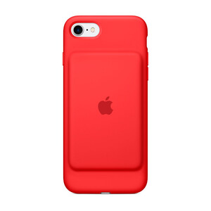Купить Чехол-аккумулятор Apple Smart Battery Case (PRODUCT) Red (MN022) для iPhone 7