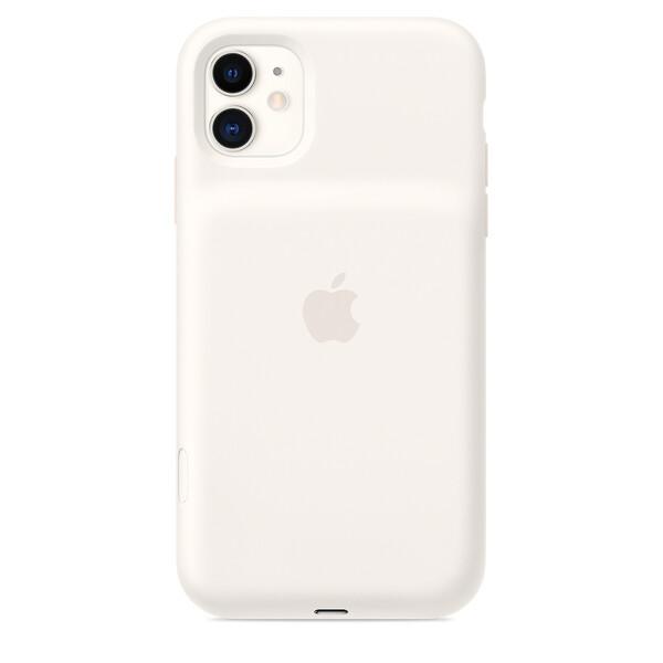 Чехол-аккумулятор Apple Smart Battery Case Soft White (MWVJ2) для iPhone 11