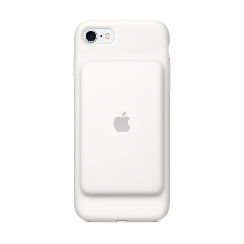 Чехол-аккумулятор Apple Smart Battery Case White (MN012) для iPhone 7