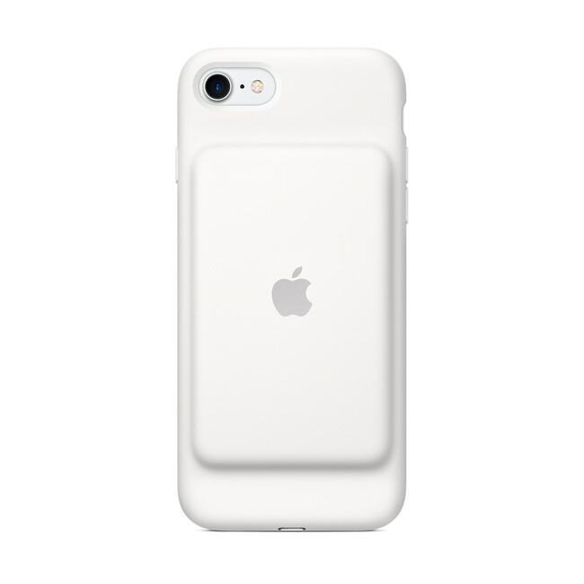 Чехол-аккумулятор Apple Smart Battery Case White (MN012) для iPhone 7