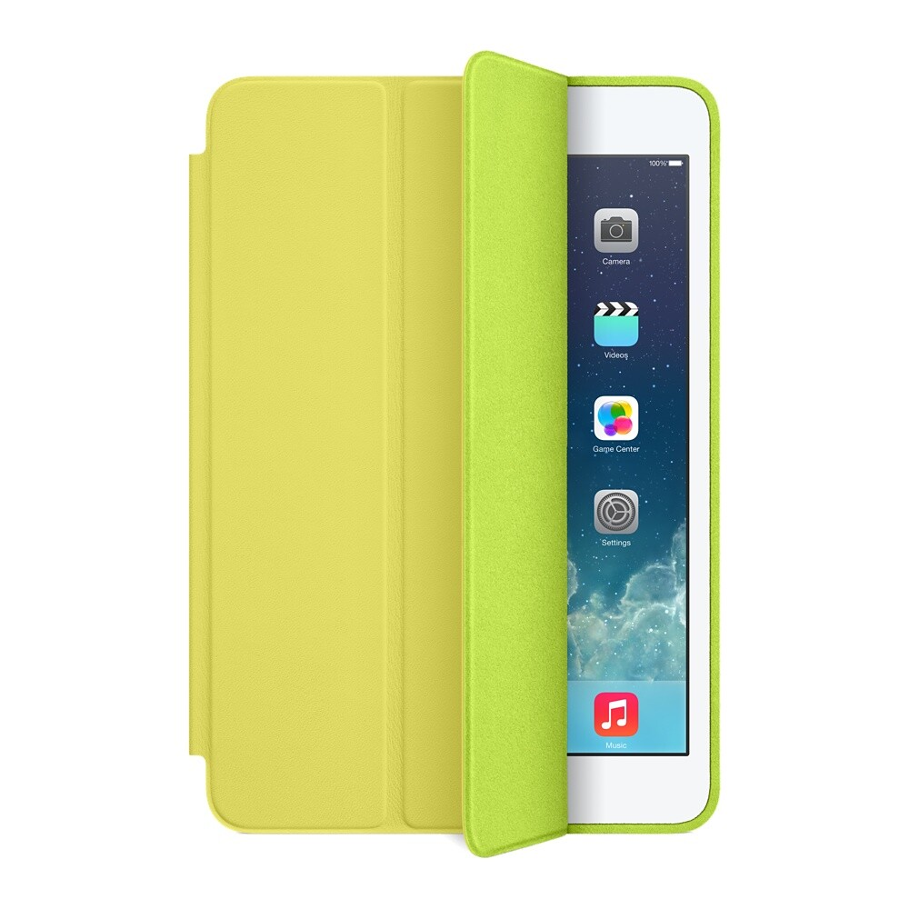 Чехол Apple Smart Case Yellow для iPad mini 3/mini 2 Retina/mini