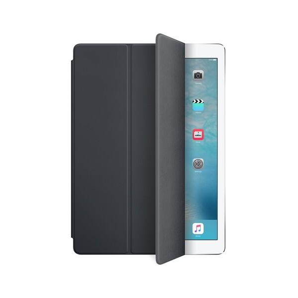 "Силиконовый чехол Apple Smart Cover Charcoal Gray (MK0L2 | MK0G2) для iPad Pro 12.9"""