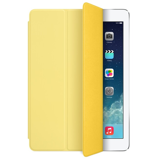 Чехол Apple Smart Cover Yellow (MGXN2) для iPad Air/Air 2