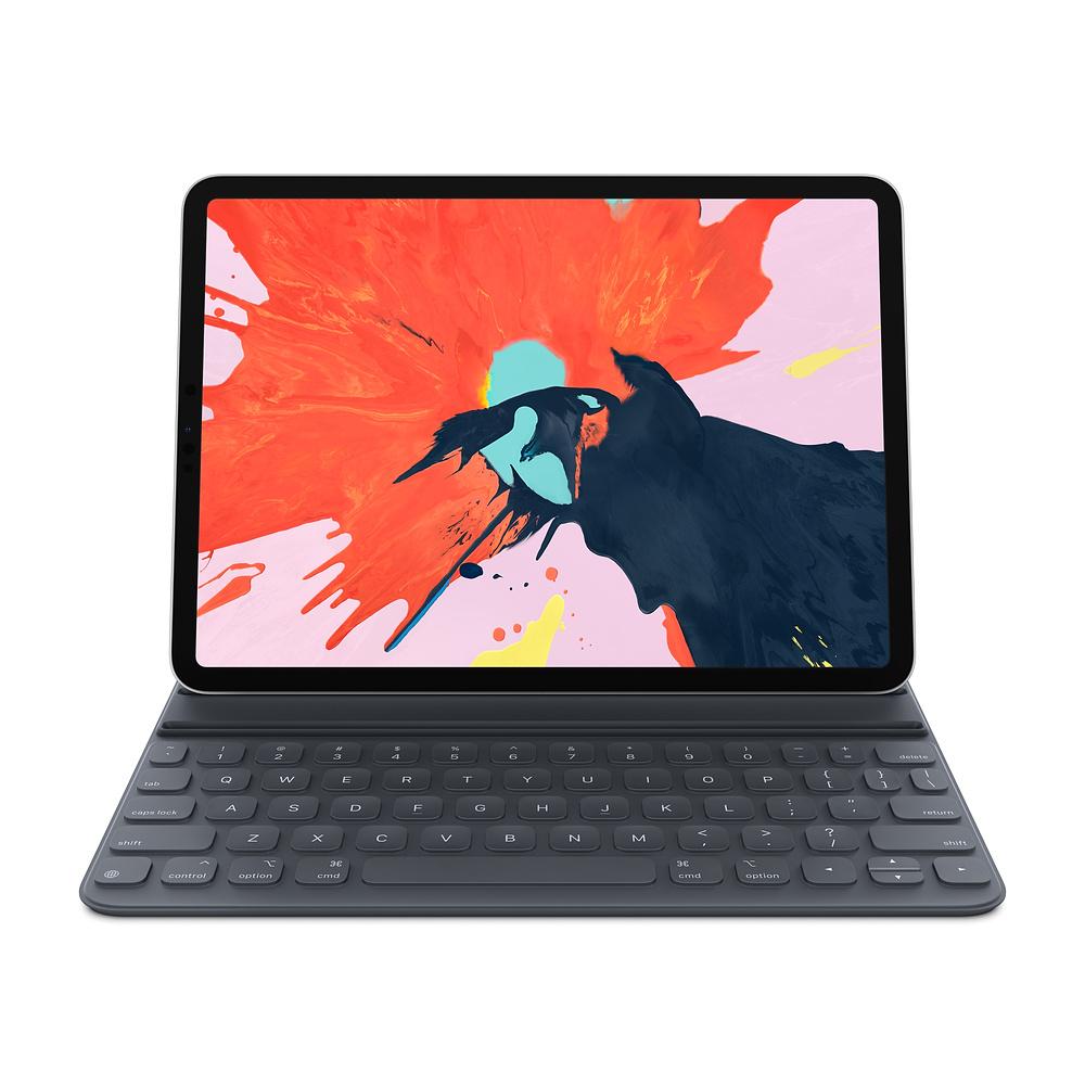 "Купить Черный чехол-клавиатура Apple Smart Keyboard Folio (MU8G2) для iPad Pro 11"""