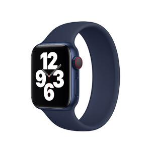 Купить Силиконовый монобраслет Apple Solo Loop Deep Navy для для Apple Watch 40mm | 38mm (MYPN2) Размер 5