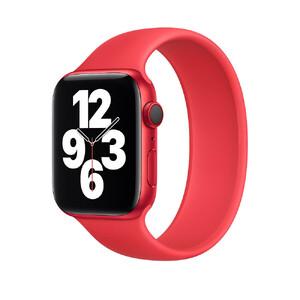 Купить Силиконовый монобраслет Apple Solo Loop (PRODUCT) Red для для Apple Watch 44mm | 42mm (MYTP2) Размер 8