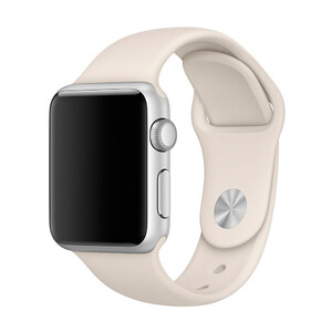 Купить Ремешок Apple 38mm Antique White Sport Band (MLKU2) S/M&M/L для Apple Watch Series 1/2