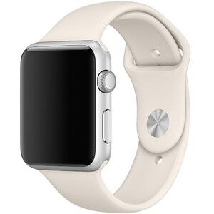 Купить Ремешок Apple 42mm Antique White Sport Band (MLL12) S/M&M/L для Apple Watch Series 1/2/3