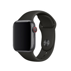 Купить Ремешок Apple Sport Band S/M & M/L Black (MTP62) для Apple Watch 40mm/38mm Series 1/2/3/4