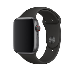 Купить Ремешок Apple Sport Band S/M & M/L Black (MTPL2) для Apple Watch 44mm/42mm Series 1/2/3/4
