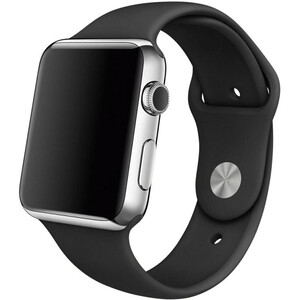 Купить Ремешок Apple 42mm/44mm Black Sport Band S/M&M/L (MJ4Q2) для Apple Watch Series 1/2/3/4